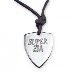 Ciondolo Super Zia in argento