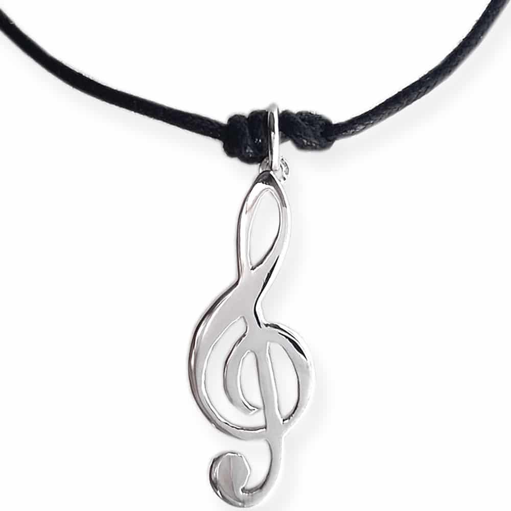 disponibilità nel Regno Unito 696dc 47f2c Ciondolo chiave di violino - Flores Gioielli