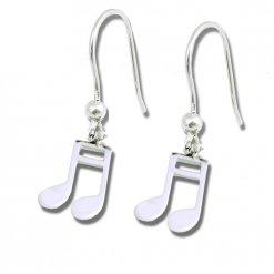 orecchini nota musicale