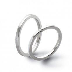 fedi matrimoniali oro bianco