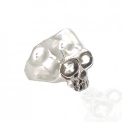 anello argento con teschio