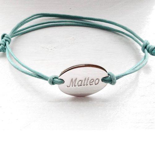 braccialetto con nome