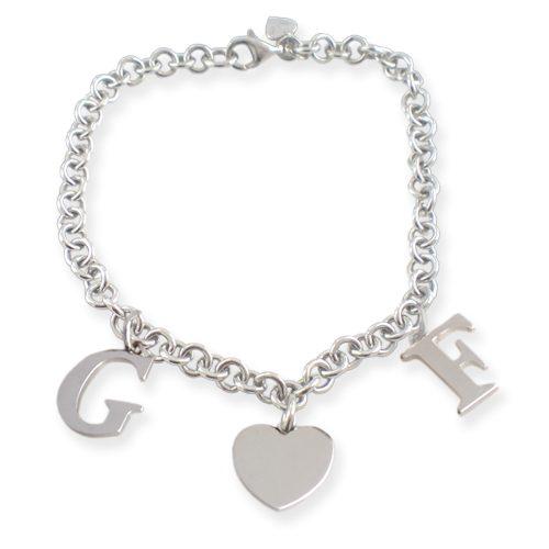 braccialetto con letterine