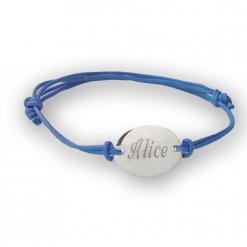 braccialetto nome inciso