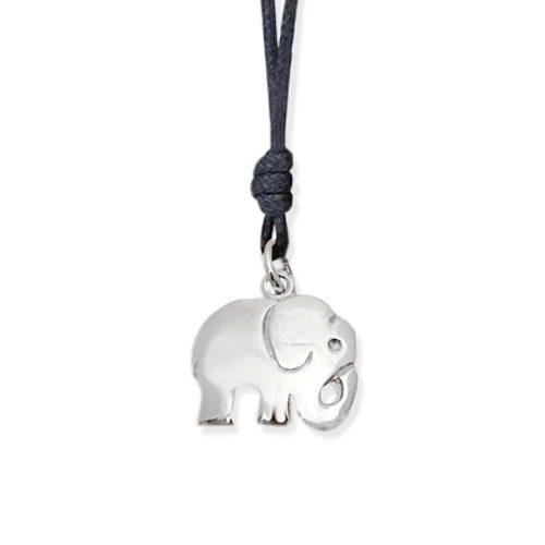 ciondolo elefante portafortuna