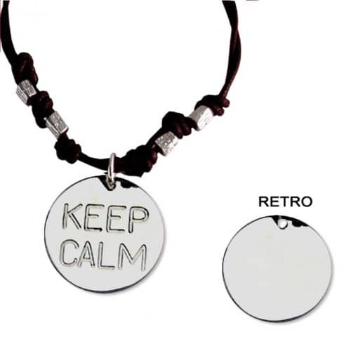 collana keep calm personalizzato