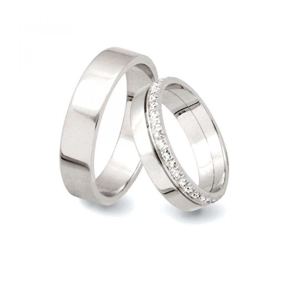 fedi matrimoniali con diamanti