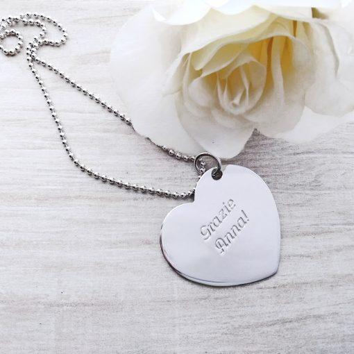 collana cuore personalizzato