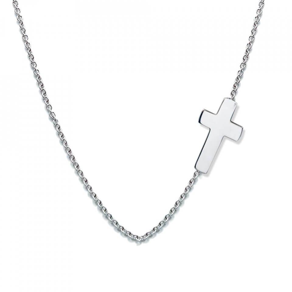 collana croce moda