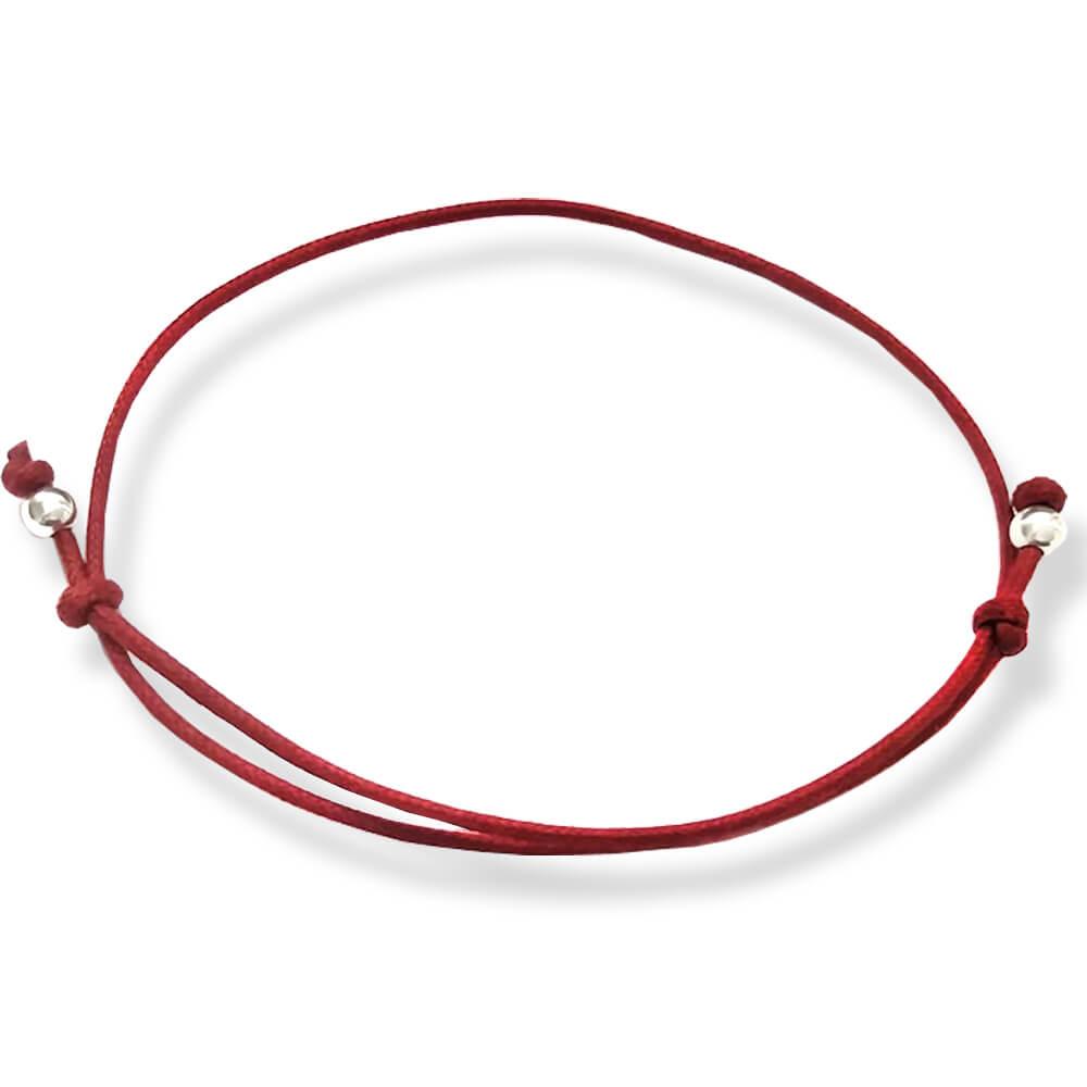 braccialetto filo rosso