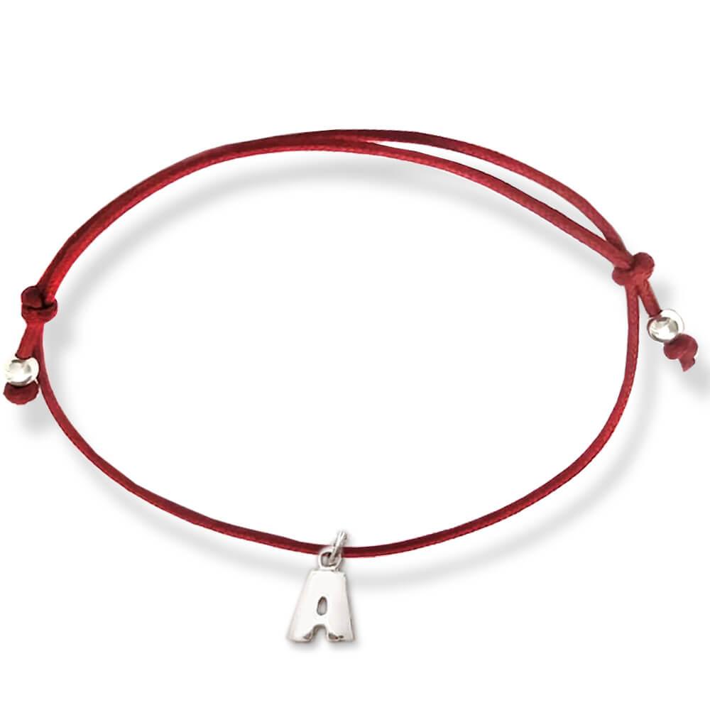 braccialetto filo rosso del destino