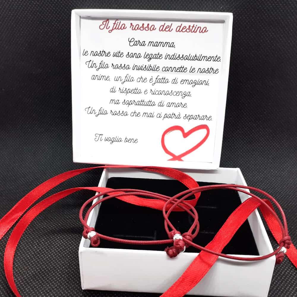 Braccialetto filo rosso del destino, Speciale Festa della mamma